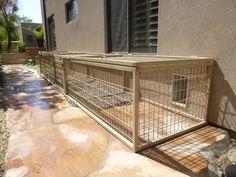 Arizona Dog Kennels Installed