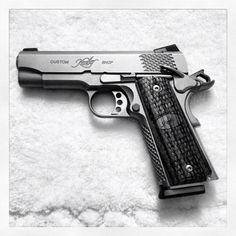 Patrick W. loves his Kimber Pro Raptor and sent in this fine photo to show us.