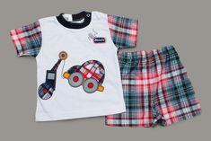Photo Boys Summer Outfits, Summer Boy, Baby Boy Outfits, Boy Fashion, Mens Fashion, Shirt Designs, Pajamas, Mens Tops, Shirts
