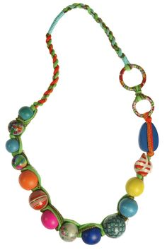 Zoda Making Patterns Necklace