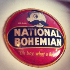 Old school Natty Boh sign