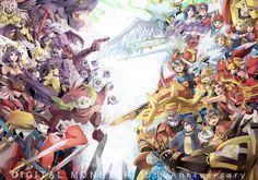 Digimon Epic collage
