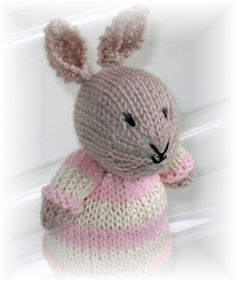 Little Cotton Rabbits eggcosy made by me :)