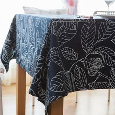 New Arrival Table Cloth European Printing Leaves High Quality Cotton Universal Tablecloth Decorative Table Cover Hot Sale #Affiliate