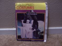 McCalls Costumes Casper 8942 Size Adult by doyourememberwhen, $3.00