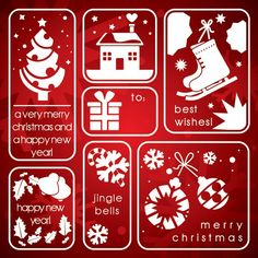 Christmas Elements Icon Set