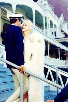 "Marilyn Monroe and Tony Curtis in ""Some Like it Hot"", 1959"