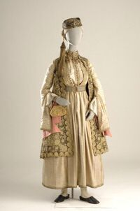 Welcome to Europeana Greek Traditional Dress, Traditional Outfits, Historical Costume, Historical Clothing, Greek Dress, Greek Clothing, Ethnic Dress, Folk Costume, Character Outfits
