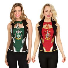 These Harry Potter Corsets are the perfect way to put a fresh spin on your traditional HP cosplay. Choose Gryffindor, Hufflepuff, Ravenclaw, or Slytherin. Hufflepuff, Ravenclaw, and Slytherin are ThinkGeek's exclusive!
