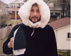 Harmony Korine, spending his free time exactly the way you would expect him to