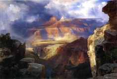 A Miracle of Nature Thomas Moran 1913