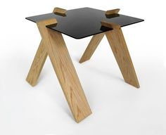 Compact Side Table by ModestWork:
