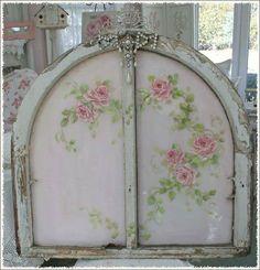 Pretty painted window