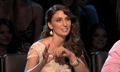 On NBC's The Sing Off, celebrity judge Sara Bareilles wore our Vintage Drop Earrings and Scallop Cuff!  The talented singer/songwriter channeled Old Hollywood with wavy hair and an ivory beaded dress.