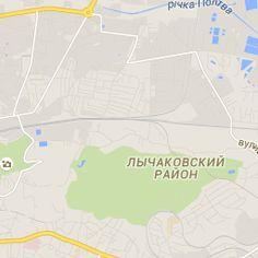 Маршрутки Львова на карте. Маршруты общественного транспорта Львова