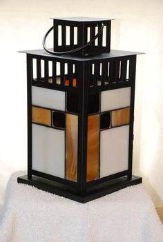 Making Stained Glass, Faux Stained Glass, Stained Glass Lamps, Stained Glass Panels, Stained Glass Projects, Stained Glass Patterns, Fused Glass, Craftsman Decor, Modern Craftsman