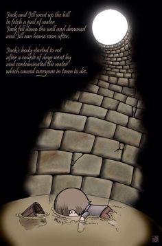Nightmarish Nursery Rhymes: Putting a Morbid Twist on Children's Stories Scary Horror Stories, Short Creepy Stories, Spooky Stories, Sad Stories, Ghost Stories, Bedtime Stories, Creepy Nursery Rhymes, Creepy Poems, Creepy Quotes