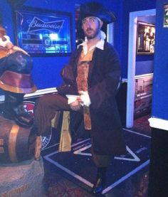 A Real-Life Long John Silver? Perhaps His Must Have Rented The Costume Permanently