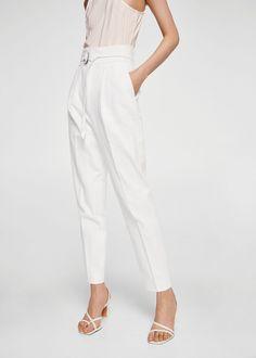 14f5bf5f06 Las 7 mejores imágenes de pantalon lino mujer