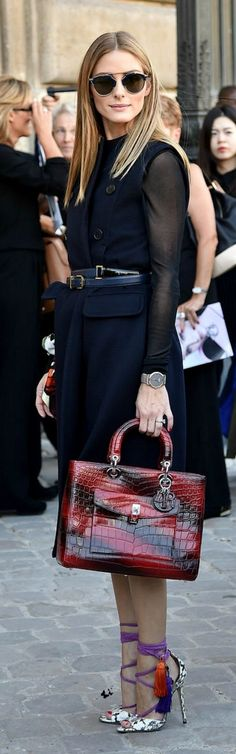 Love her outfit and love her - Olivia Palermo