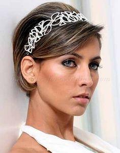 short wedding hairstyles 2016 - short wedding hairstyle