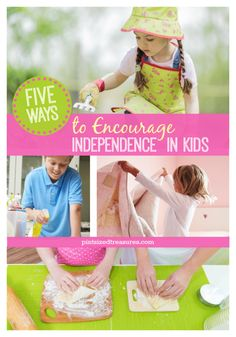 Find out some super important ways to encourage independence in kids --- thy need it! @alicanwrite