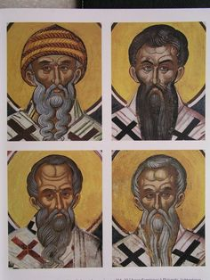 Teofan Cretanul – icoana Saints, Vignettes, Portrait, Image, Art, Art Background, Headshot Photography, Kunst, Portrait Paintings