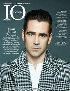Colin Farrell - Io Donna Magazine Cover [Italy] (January 2014)