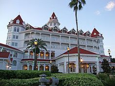 grand floridian, disney world, florida