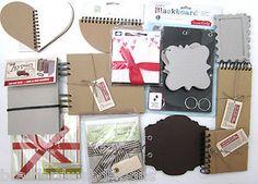 .99! Huge Scrapbook Mini Album Chipboard Lot 7Gypsies Melissa Frances More | eBay