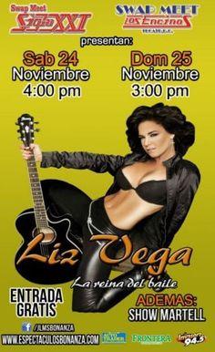 Eventos - Liz Vega @Swap meet Siglo XXI, Tijuana 2012 - TJmix tu espacio