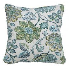 Miriam Blue and Cream Pillow (Set of 4)