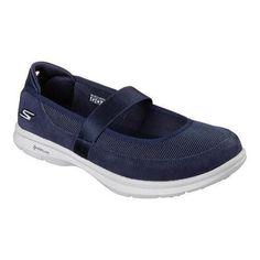 3b3716f30a0f9 Women s Skechers GO STEP Snap Mary Jane Walking Shoe Navy