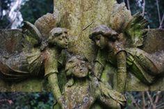 Highgate Cemetery, London.  Photo by Susan Liston.