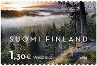 Stamps of protected areas - www.metsa.fi