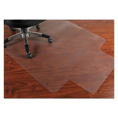 Mammoth Office Products 45 x 53 Chair Mat for Hard Floors - MPVV4553LHF