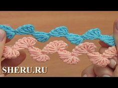Вязание шнура крючком Урок 113 Zig Zag Crochet Cord Ribbon