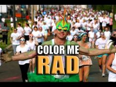 The Ultimate Color Me Rad Video II | http://newsocracy.tv