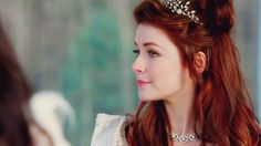 caps upon a time Dinastia Tudor, Mary Tudor, Elven Hairstyles, Sarah Bolger, Once Up A Time, Blackpink Fashion, Queen, Girls In Love, Ouat