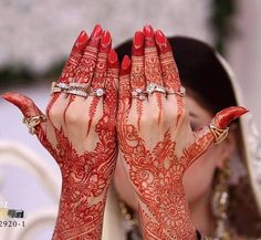 Gorgeous! Bridal Mehndi Designs 2013