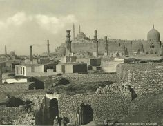 Tombs of the Mamelukes to the Citadel (year unknown).