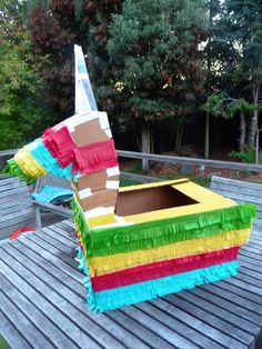 Halloween Was a {pinata} Smashing Success. Pinata Halloween Costume, Taco Costume, Homemade Halloween Costumes, Trunk Or Treat, Day Of The Dead, Pegasus, Unicorns, Sun Lounger, Classroom Ideas