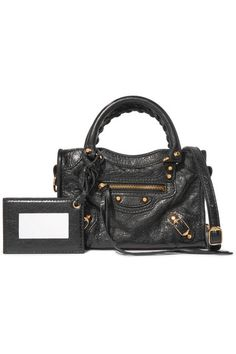Balenciaga - Classic City nano texured-leather shoulder bag cd093dcdb041c