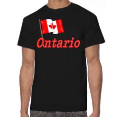 Canadian Flag - Ontario t-shirt