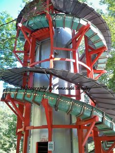 """Have you ridden the """"Skyslide"""" at Knoebels Amusement Resort in Elysburg, PA ? Give ti  a whirl!"""