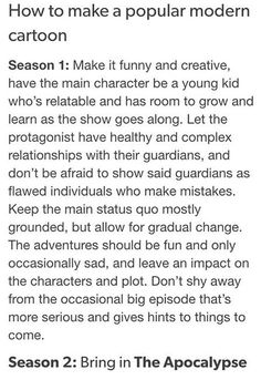 SU, GF, even the end of season one of SVTFOE to a certain extent matches this