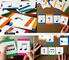 More rhythm cards!!