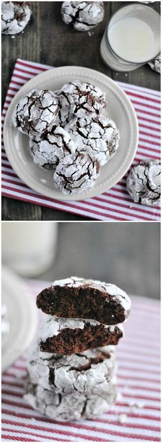 Chocolate Crinkle cookie are easy delicious and always a family favorite!
