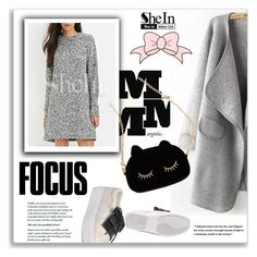 """SheIn"" by amra-mak ❤ liked on Polyvore featuring Maison Margiela, WithChic, women's clothing, women's fashion, women, female, woman, misses, juniors and shein"
