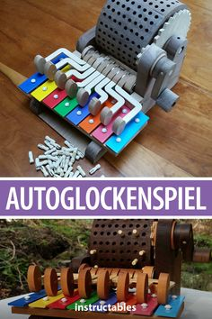 Check out this proof of concept programmable music box / glockenspiel called an autoglockenspiel. Easy Wood Projects, Projects To Try, Pallette, The Oak Ridge Boys, Computer Projects, Proof Of Concept, Furniture Factory, Feng Shui, Cool Inventions